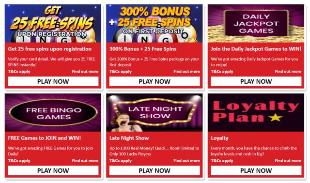 new online bingo site Quid Bingo